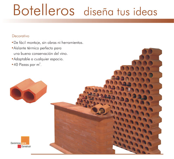 Ladrillos wallpaperscraft - Botelleros de obra ...